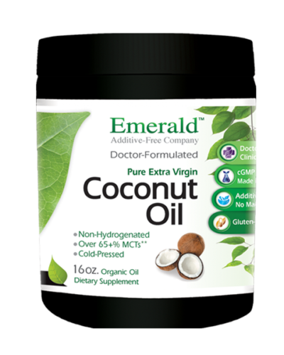 Emerald Cocount Oil (16oz) Bottle