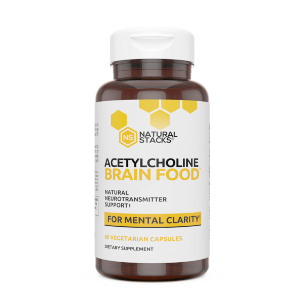 Natural Stacks Choline Bottle Front