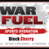 WAR FUEL Black Cherry (150 Gram) Label