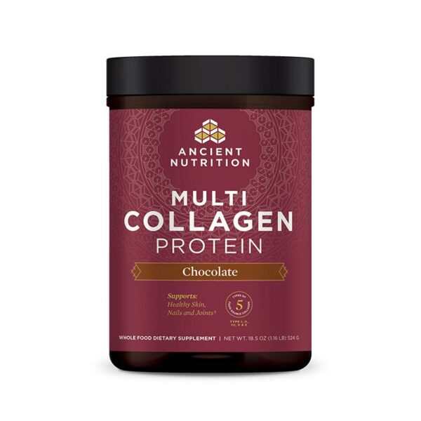 Dr Axe Multi Collagen Chocolate FRONT