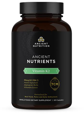 Ancient Nutrition Vitamin K2 Front