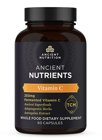 Ancient Nutrition Vitamin C Front