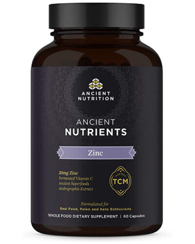 Ancient Nutrition Zinc Bottle