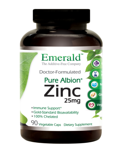 Emerald Labs ZINC Bottle-Front