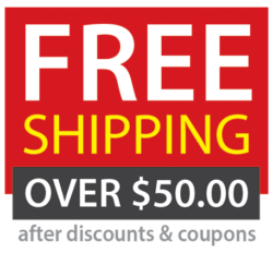 Free Shipping Over $50 Image