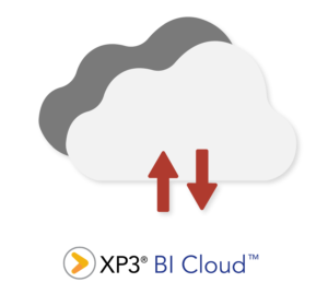 XP3 BI Cloud Illustration