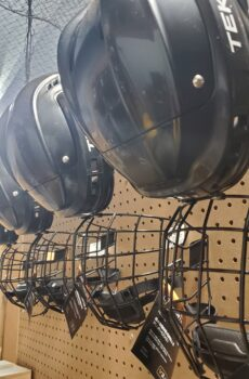 Ball Hockey Helmets