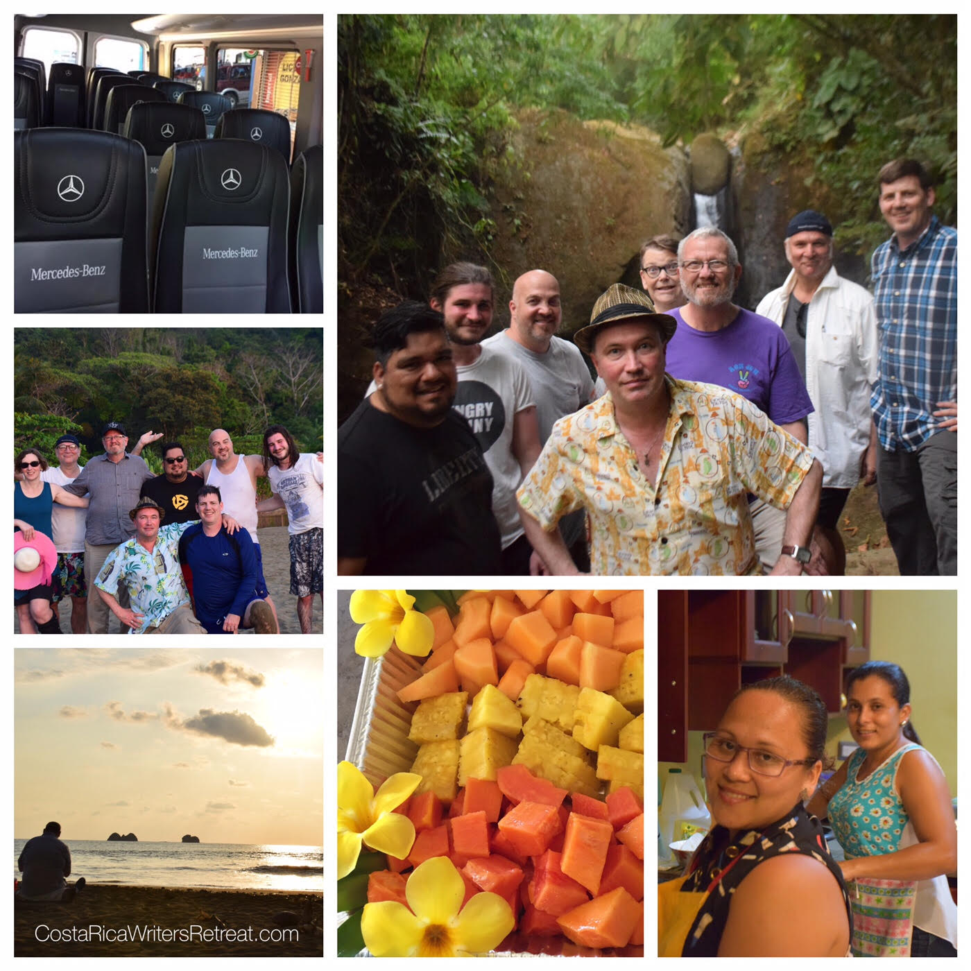 Writers Retreat Collage