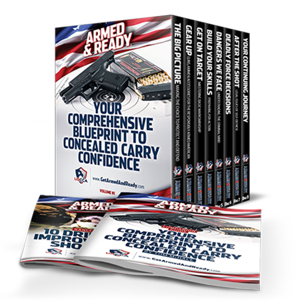 USCCA Armed and Ready Training DVDs