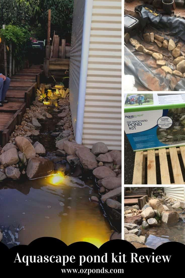 Aquascape pond kit Review