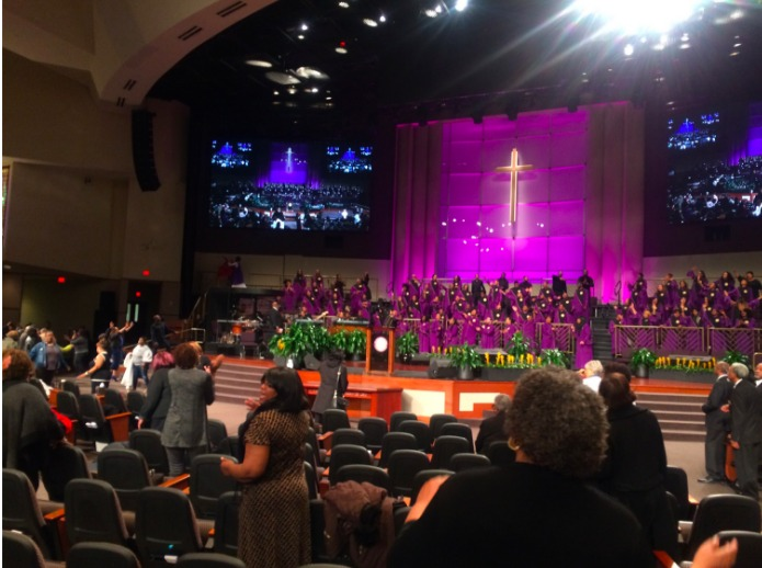The Miracle at Post-Communion Service