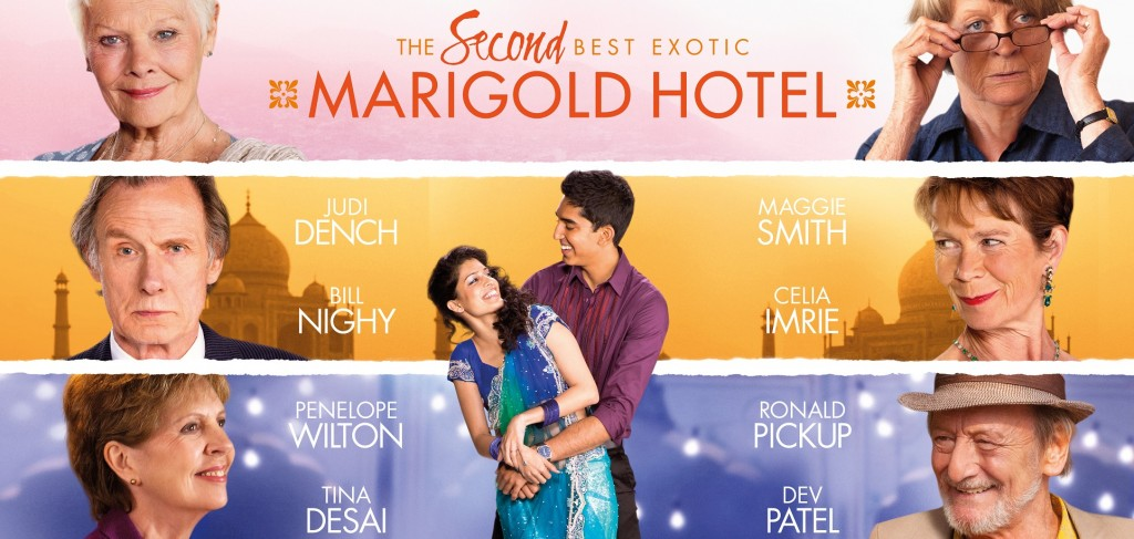 second best exotic marigold hotel movie review