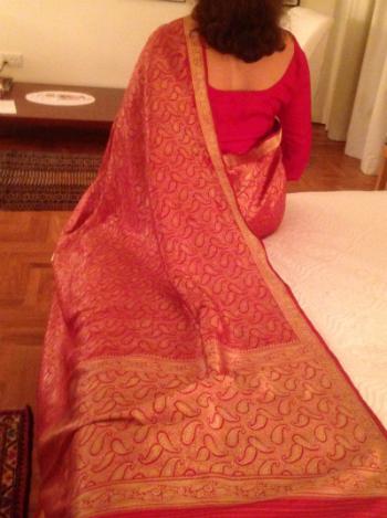 saree back 350