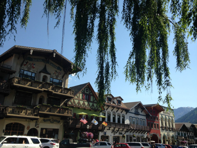 The town of Leavenworth Summertime Frolic