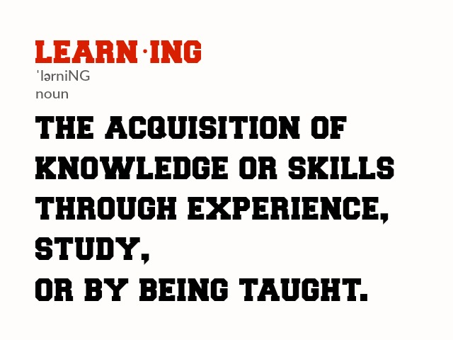 pursuit of knowledge