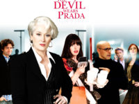 Fan-made movie poster featuring the cast of The Devil Wears Prada