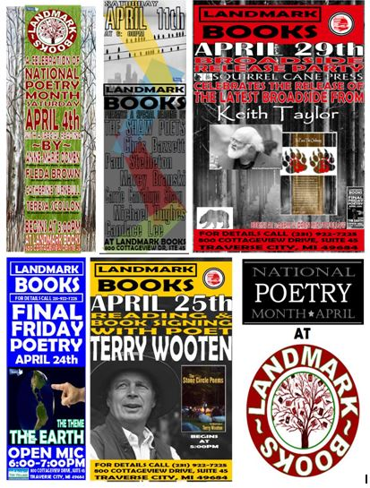 National Poetry Month At Landmark