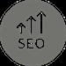 seo-up-arrows-symbol-in-a-circle_318-53437