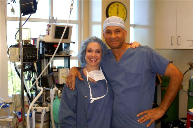 Christine and Dr. Delgado