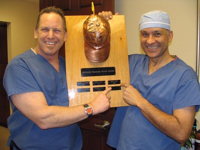 Randy and Dr. Delgado