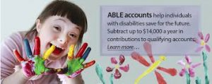 ABLE accounts help disabled children with financial needs