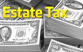 estate tax money