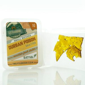the little rosin company durban poison shatter