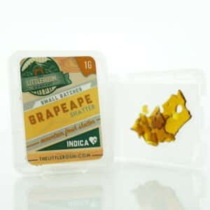the little rosin company grape ape shatter