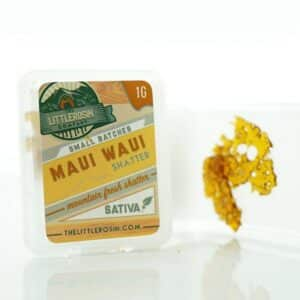 the little rosin company maui waui shatter