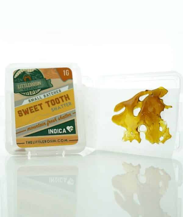 the little rosin company sweet tooth shatter