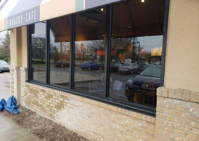 Car Damage - Panera Bread After