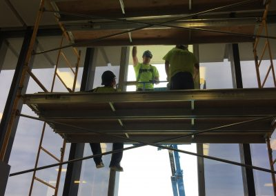 Glass Replacement - Dearborn Library 4 Before