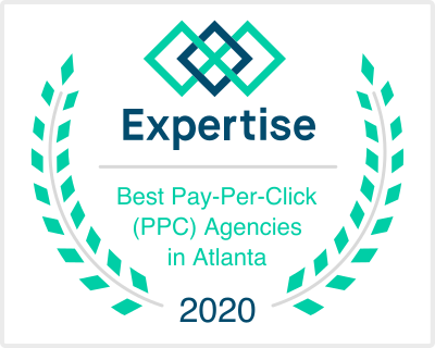 Atlanta PPC Agency Award 2020 Blindspot Digital