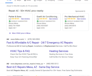 ppc advertising for HVAC companies
