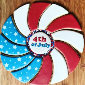 July 4th Cookie Platter
