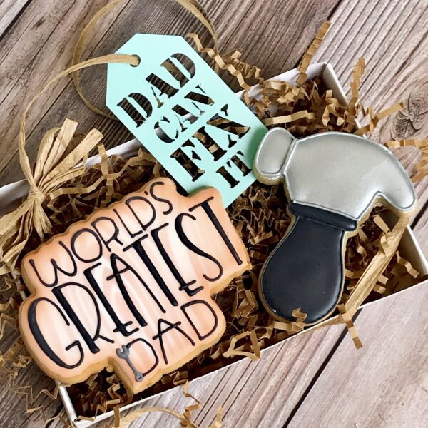 Fathers Day Cookie Tool Set