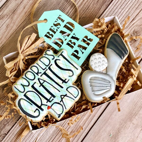 Father's Day Cookie Gift Set