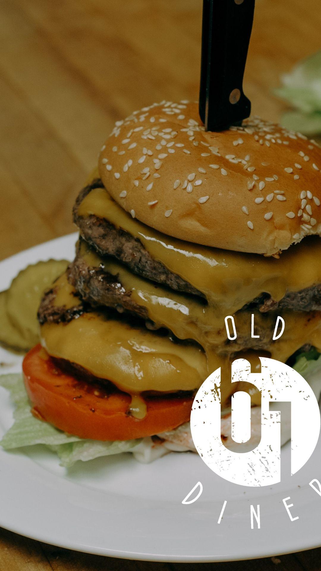 Farm Boy Burger | Old 61 Diner Boscobel WI