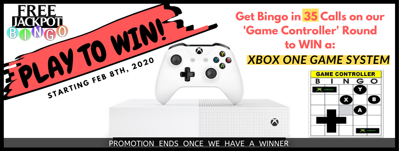 Play To Win An XBOX ONE Game System with Free Jackpot Bingo