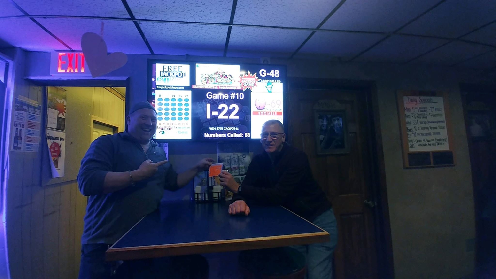 Bingo Player Hits $775 Progressive Jackpot at Gilligans on 2/4/20