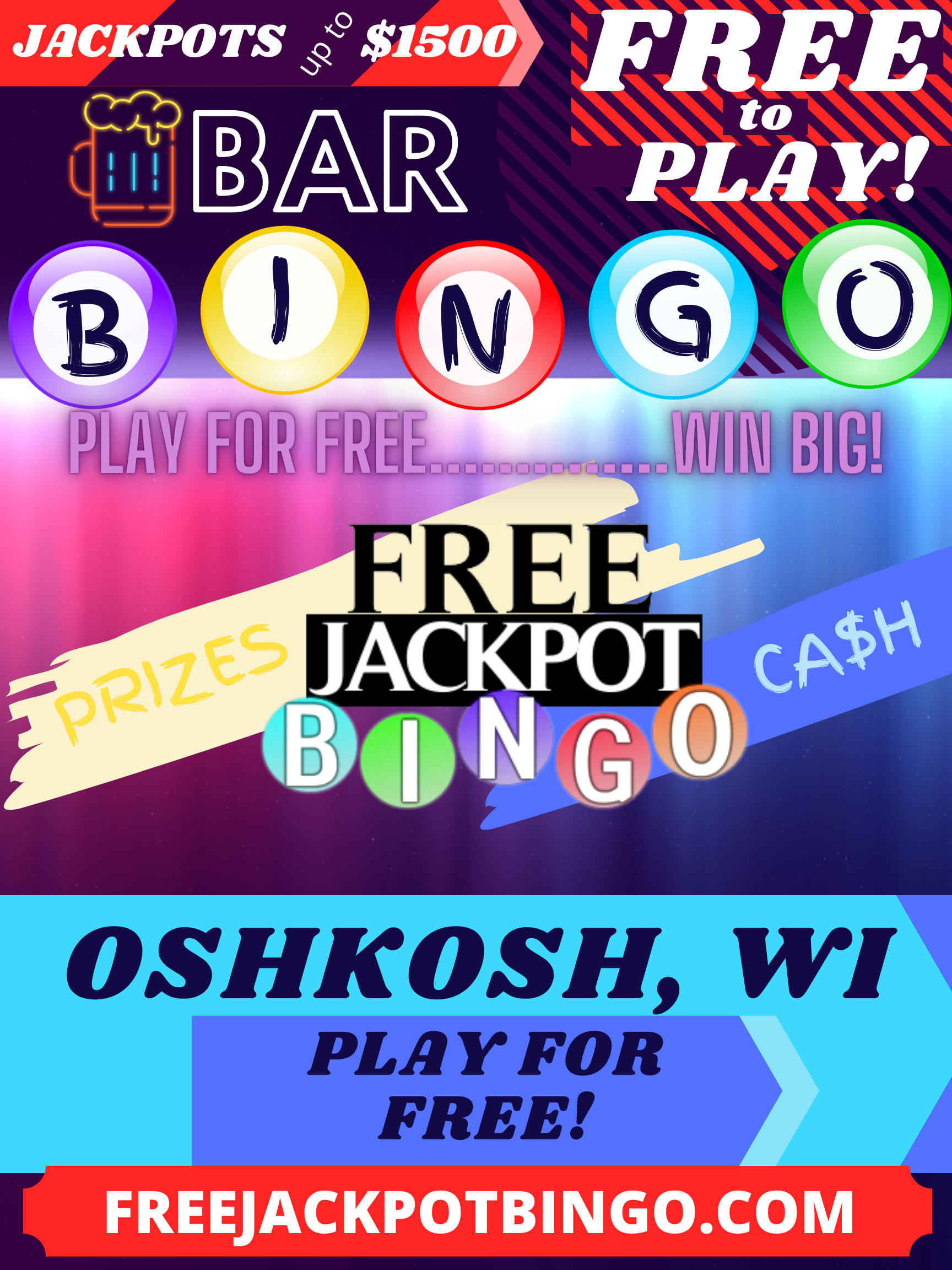 Play Bingo For Free In Oshkosh