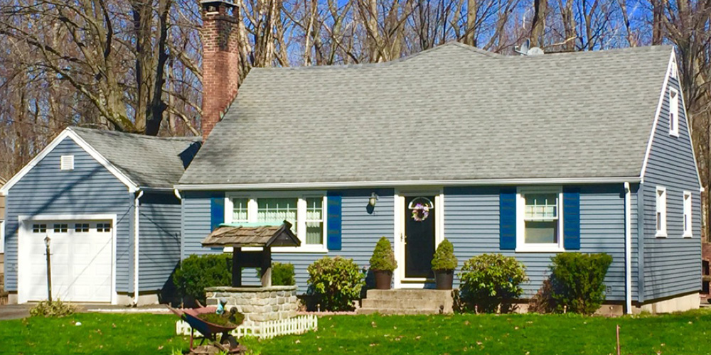 Beautiful Siding and Roofing After Installation