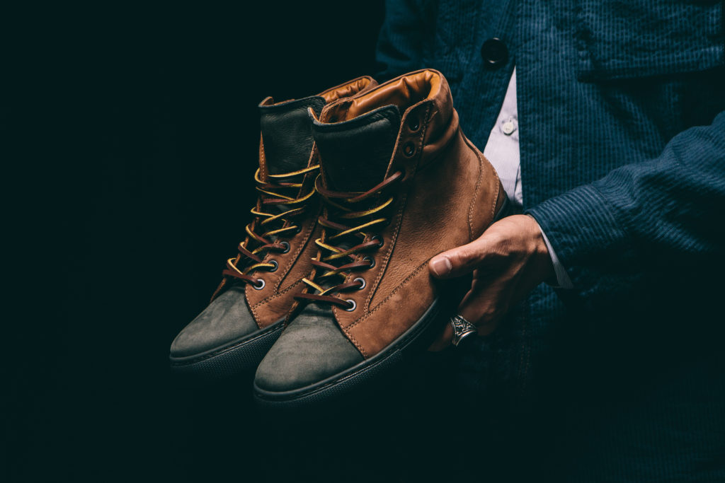 CHRISTIAN KIMBER SS16 HOLDING SNEAKERS-35