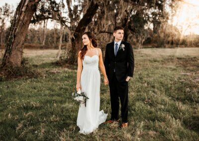 Beautiful Boho-style December wedding. Image by 28 North Photography, www.28north.co.
