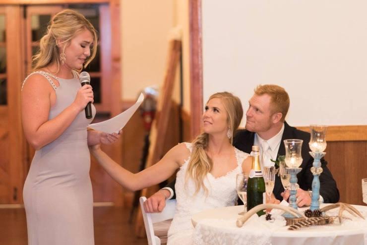 Brooke & Danny's toast
