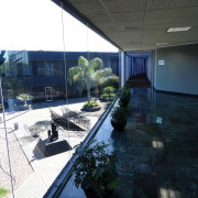 Office Courtyard view