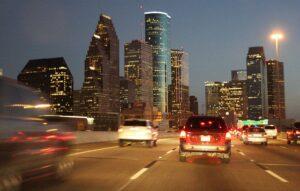 Calm in Houston Traffic