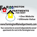 Logo for Farmington Apartments for Rent.