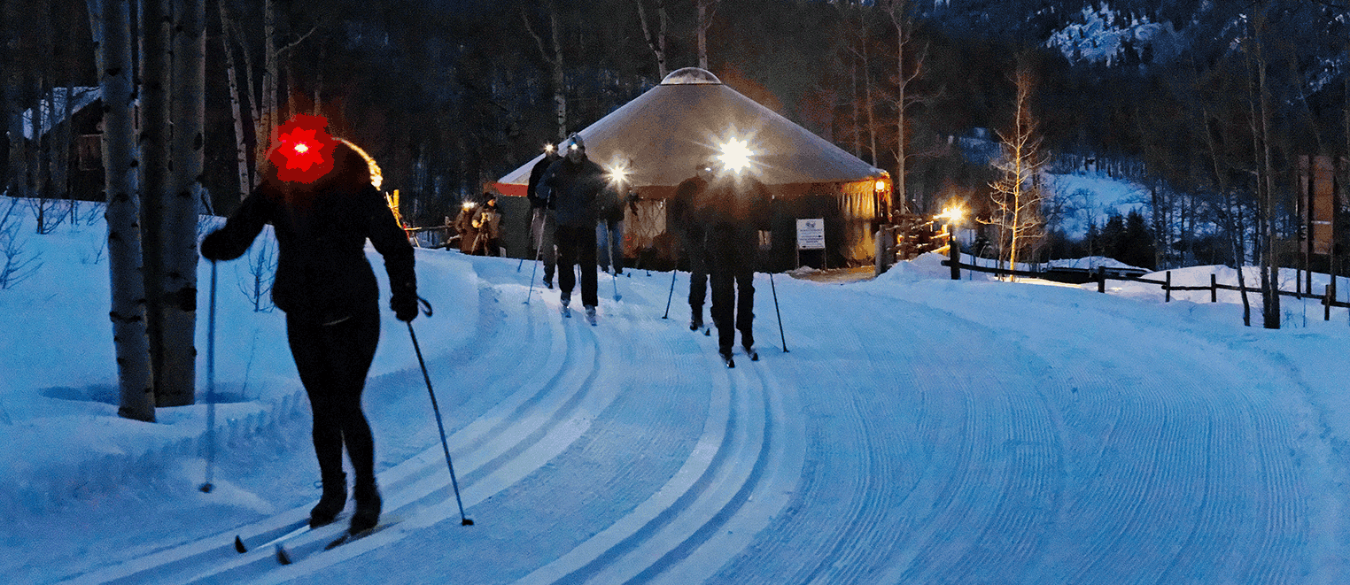 WINTER PRICING : DINNER SLEIGH AND SKI
