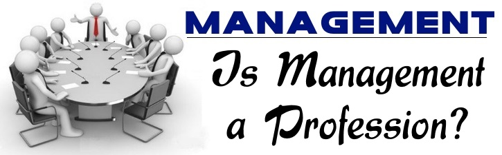 Is Management a Profession